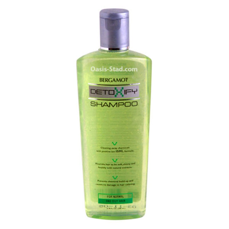 Bergamot  Detoxify Shampoo  (for Normal and Oily Hair)
