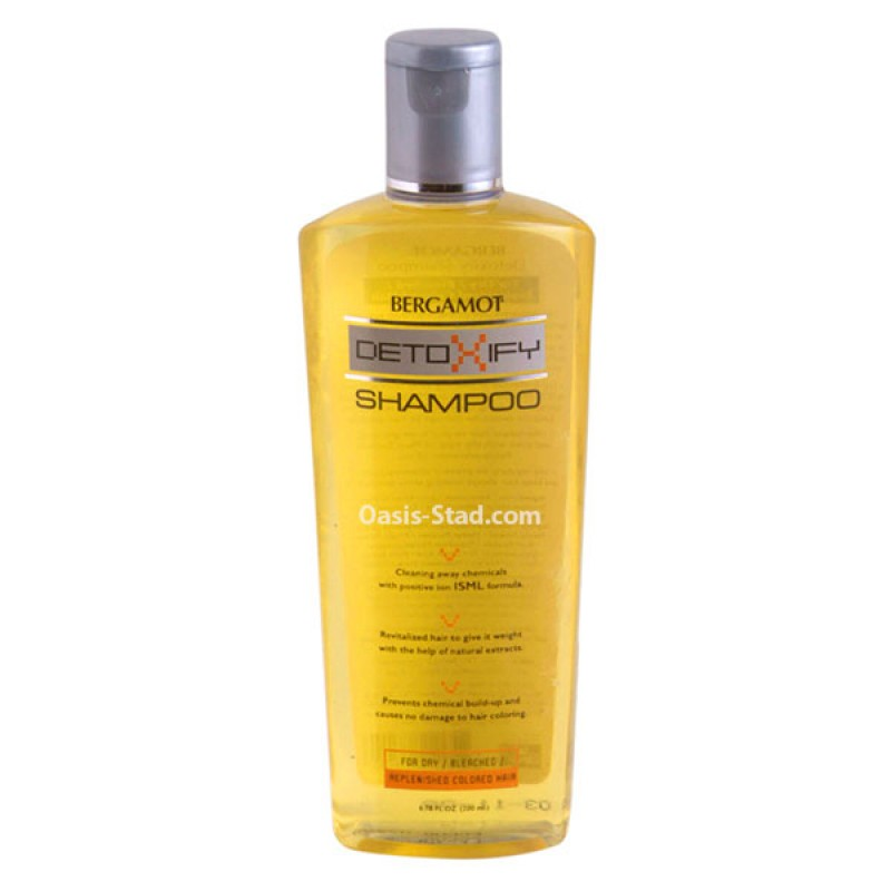 Bergamot  Detoxify Shampoo  (for for Dry / Bleached / Replenished Colored Hair)