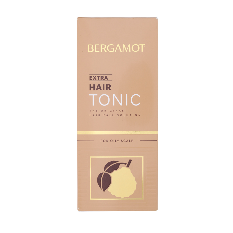 Bergamot  Extra Hair Tonic (Gold) For Oily Scalp