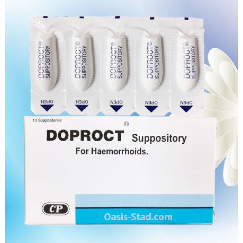 Doproct Suppository