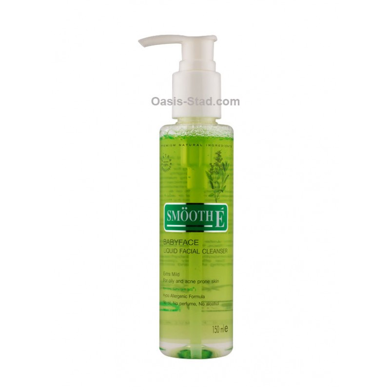 SmoothE  Babyface Liquid Facial Cleanser (Extra Mild for Oily and Acne Prone Skin)