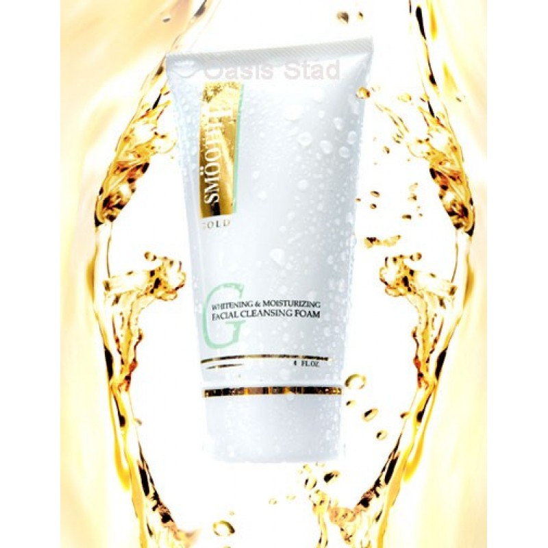 SmoothE Gold Whitening & Moisturizing Face Foam