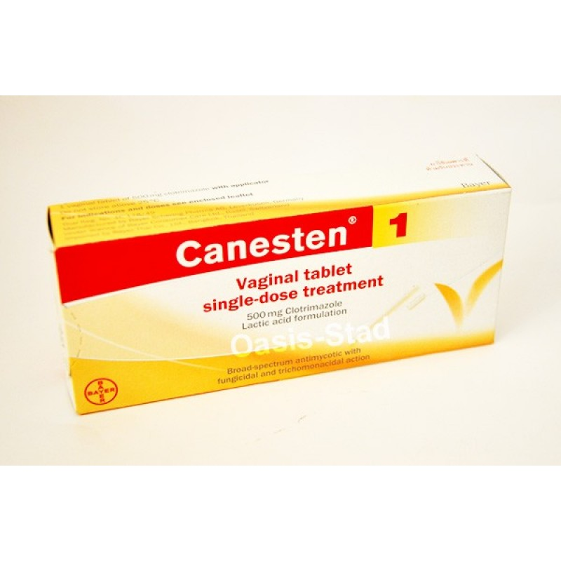 Canesten Vaginal Tablet Single-Dose Treatment with Applicator
