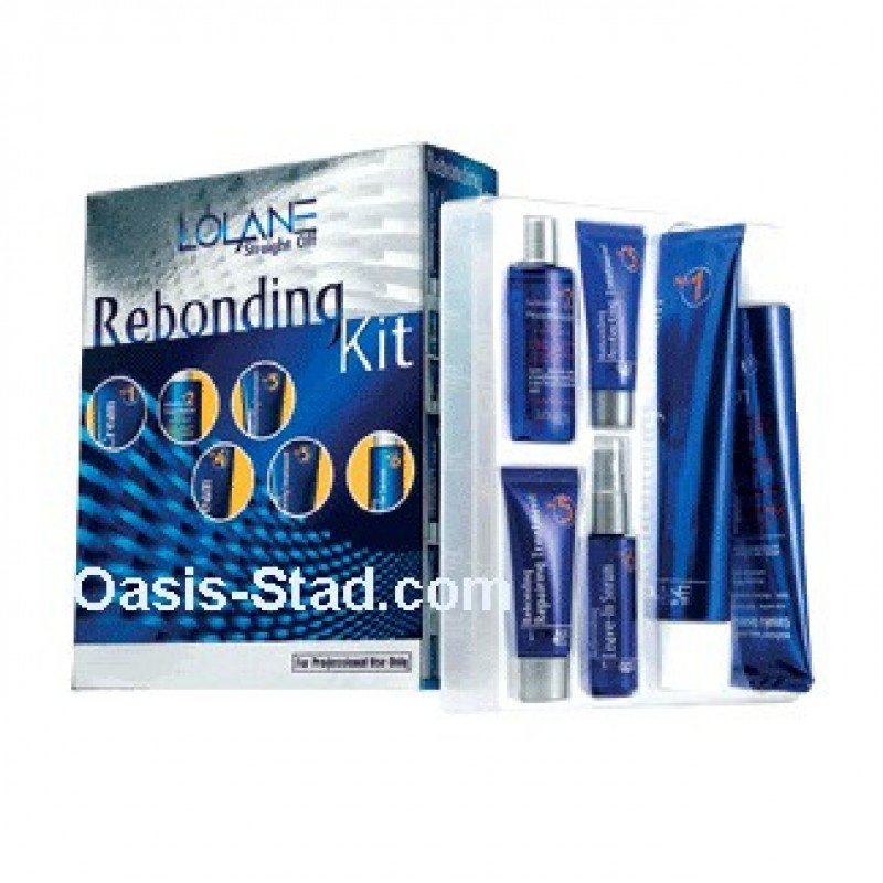 Lolane Rebonding Kit Straightening Hair Cream