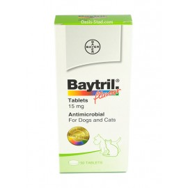 Baytril 15 mg  for Dogs (Flavour)