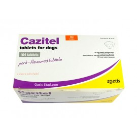 Cazitel Tablets for Dogs (Pork Flavour)