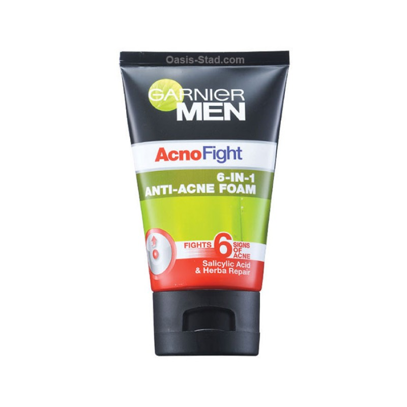 Garnier Men Acnofight 6 IN 1 Anti-Acne Facial Foam