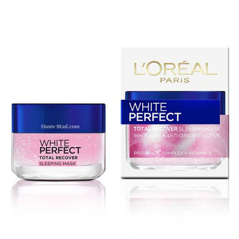 L'oreal White Perfect Total Recover Sleeping Mask