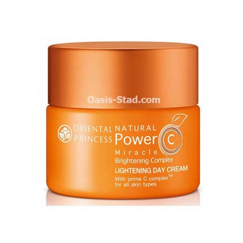 Oriental Princess Natural Power C Miracle Brightening Complex Lightening Day Cream
