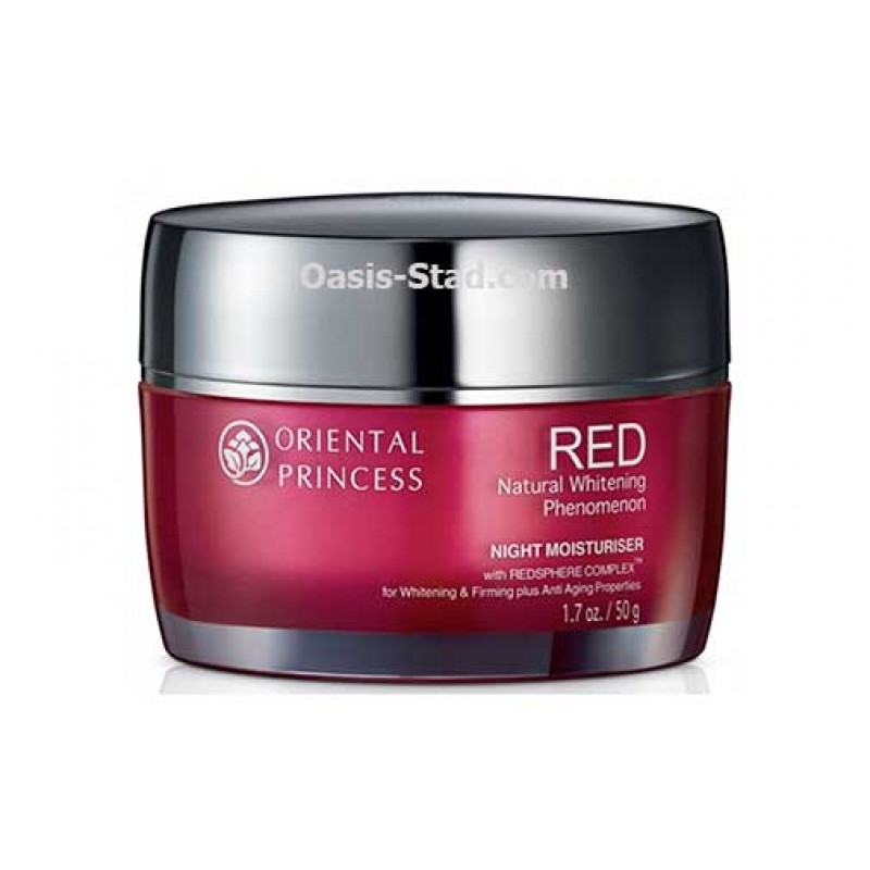 Oriental Princess RED Natural Whitening Phenomenon Night Moisturizer