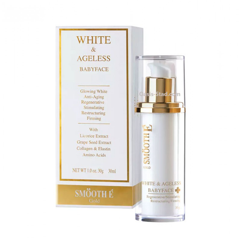 SmoothE Gold White & Ageless Babyface Cream
