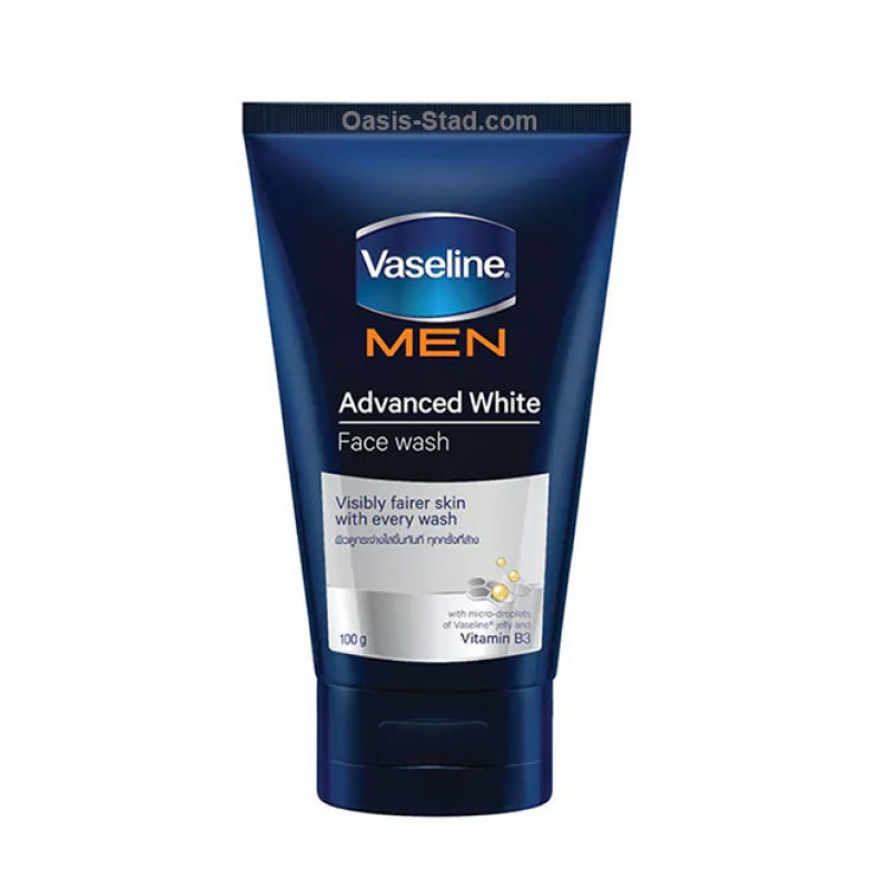 Vaseline Men Advanced White Face Wash