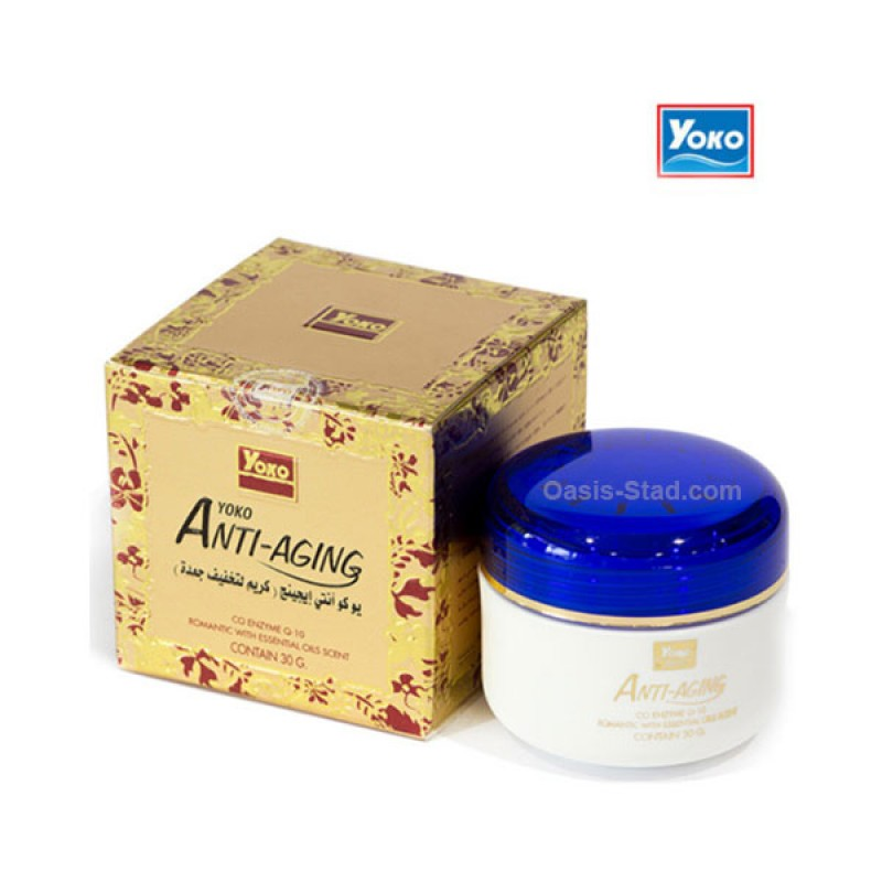 Yoko Anti-Aging Co Enzyme Q10 Facial Cream