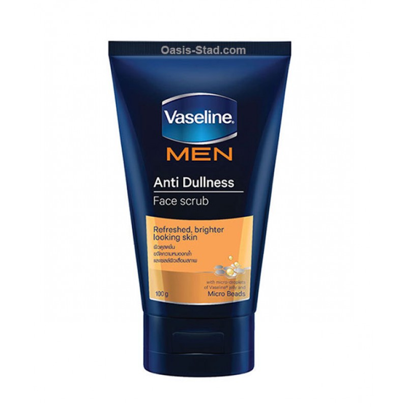 Vaseline Men Anti Dullness Face Scrub