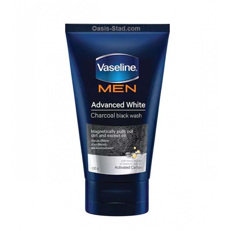 Vaseline Men Charcoal Black Facial Foam