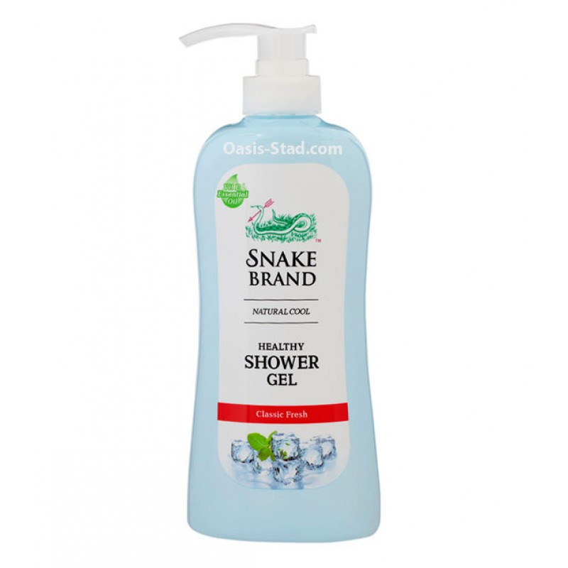 """Snake Brand"" Natural Cool Healthy Shower Gel - Classic Fresh"